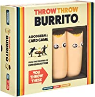 Throw Throw Burrito dai creatori di Exploding Kittens - A Dodgeball Card Game - Family-Friendly Party Games - Card Games...