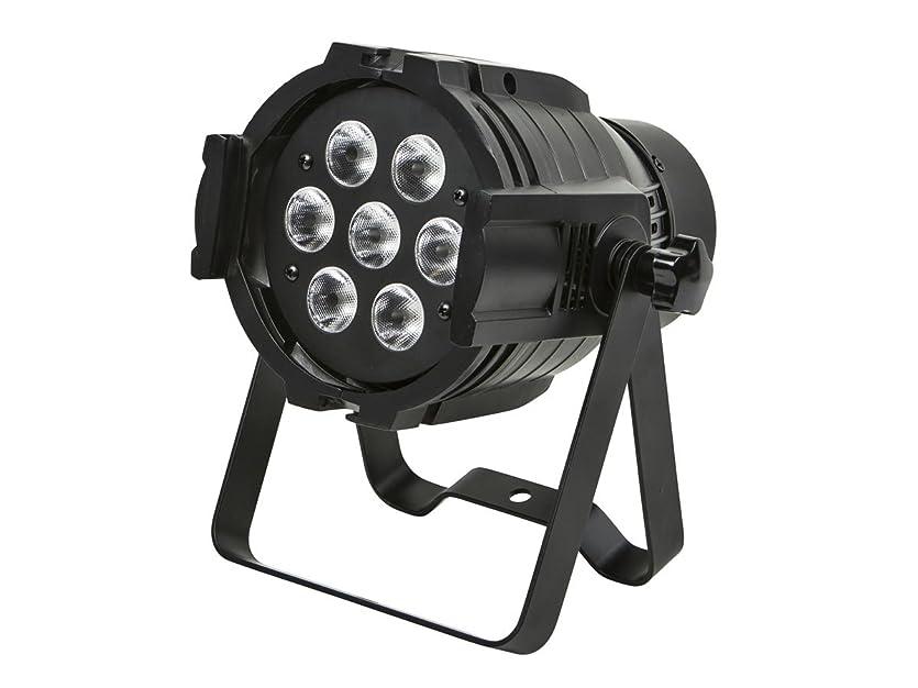 いらいらさせる傑出した動Monoprice Bright, 8-watt x 7 LED PAR-575 Stage Light (RGBW)