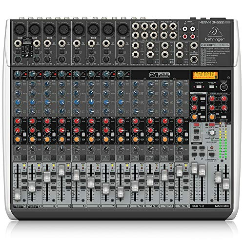 Behringer XENYX QX2222USB 12 Channel Mixer