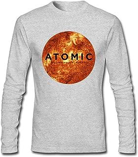 Hefeihe DIY Mogwai Atomic Men's Long-Sleeve Fashion Casual Cotton T-Shirt