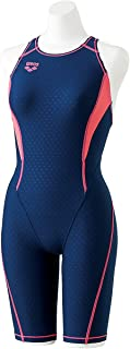 arena(arena) 练习用 泳衣 女孩 少年 TAFIT 套装 半紧身衣 和腰带 松紧带SAR-8100WJ (R130~140码)