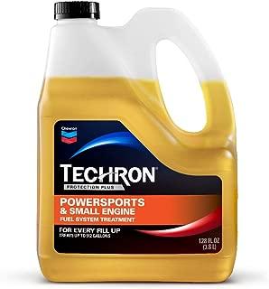TECHRON 266707183 Protection Plus Powersports & Small Engine Fuel System Treatment, 128 oz, 128. Fluid_Ounces