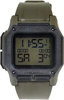 Nixon Men's Regulus A11803100 Green Polyurethane Quartz Sport Watch