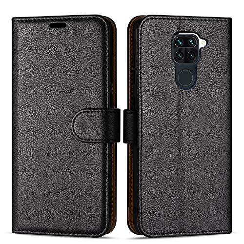 Hülle Collection Hochwertige Leder hülle für Xiaomi Redmi Note 9 Hülle (6,53