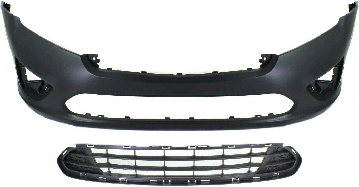 Rare Bumper Cover National products Kit For Front Assembly 2Pc Grille and