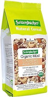 Seitenbacher Organic Muesli Cashews Almonds Natural Cereal, 16 Ounce