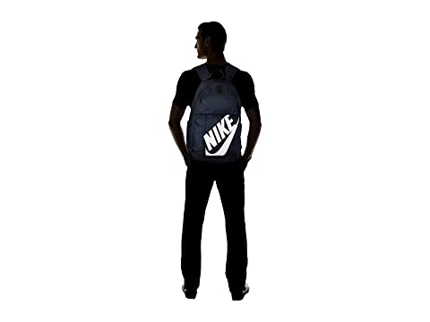 Nike Elemental Obsidiana Negro Blanco Sportswear Mochila wgOq4q