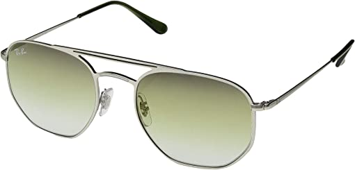 Demi Gloss Silver/Green