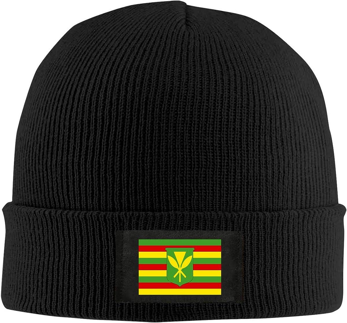 Kanaka Maoli Native Hawaiian Flag Unisex Rare Warm Hat Wool Max 86% OFF Kn Winter