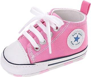 5c0a55468f7 Zapatos para bebé Auxma La Zapatilla de Deporte Antideslizante del Zapato de  Lona de la Zapatilla