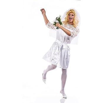 Disfraz de Novia para hombre: Amazon.es: Ropa y accesorios