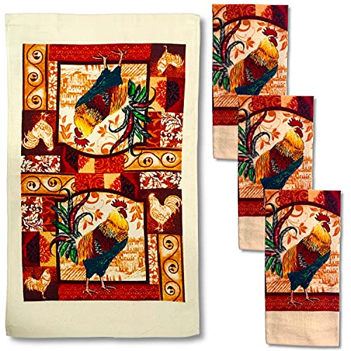 Top 10 Best Selling List for kitchen towels rooster