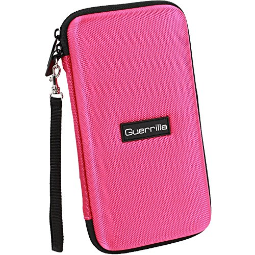 Guerrilla Hard Travel Case for TI-83 Plus, TI-84 Plus, TI-84 Plus Color Edition, TI-89 Titanium, TI-Nspire CX&CX CAS, HP50G Graphing Calculators + Guerrilla's Essential Calculator Accessory Kit, Pink Photo #8
