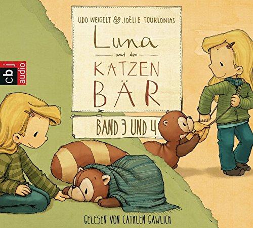 Luna und der Katzenbär Band 3 & 4: Ein magischer Ausflug / Luna und der Katzenbär gehen in den Kindergarten (Die Katzenbär-Reihe: Die Hörbücher, Band 2)