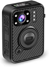 BOBLOV 2K 1440P Body Mounted Camera Body Worn Cam 10H Recording with WiFi(Support Android Only) GPS 1inch LCD Screen (64G with WiFi GPS) (64G)
