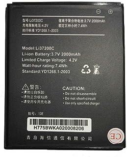 Todobarato24h Bateria HISENSE HS-U966, HS-U970, HS-U971, HS-U971AE, T970, U966, U970, 2000 mAh Voltaje 3.7v Li37200C