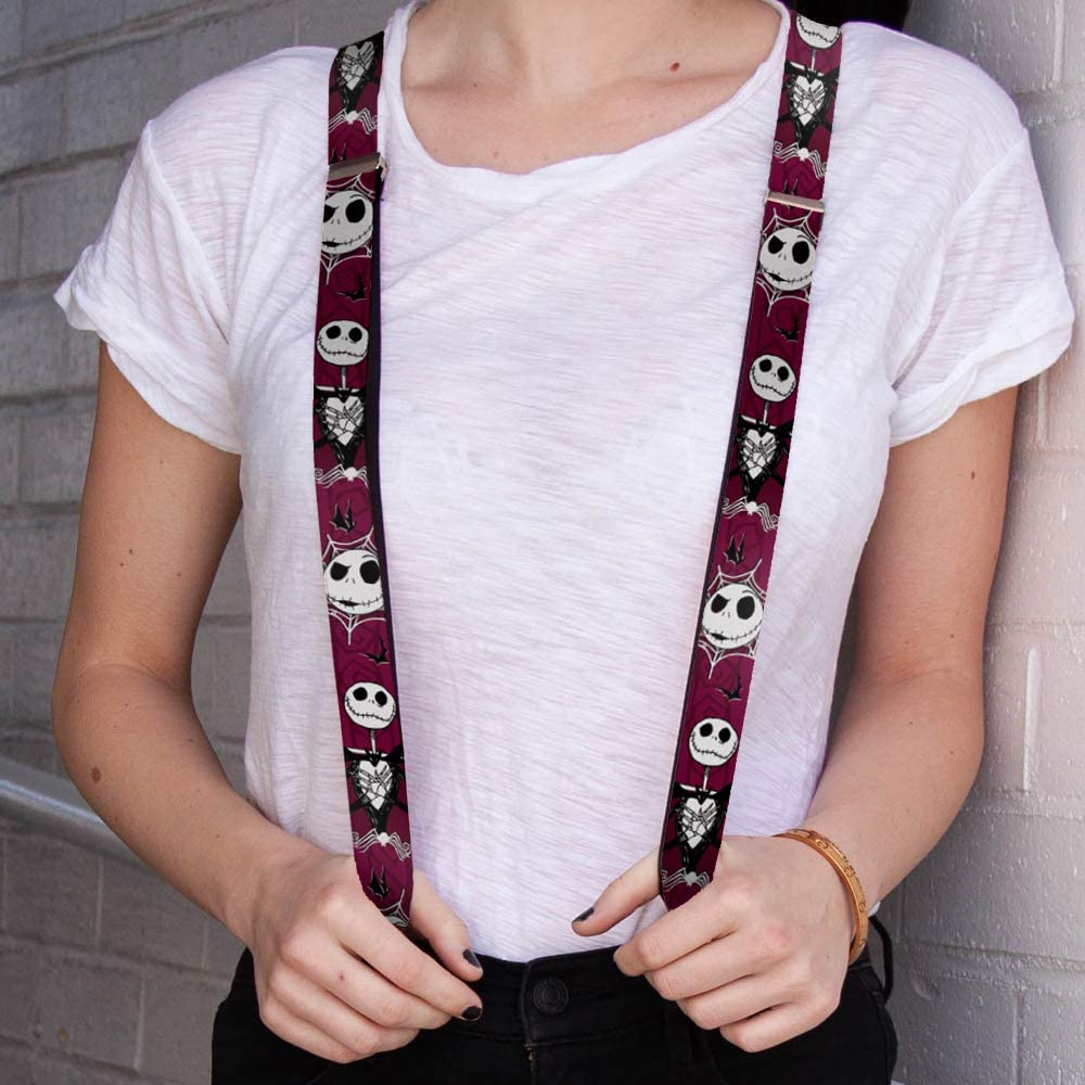 Buckle-Down Unisex-Adult's Suspender-Nightmare Before Christmas, Multicolor, One Size