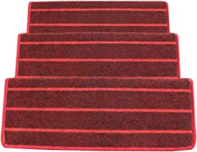 JIAJUAN Non-Slip Stair Carpet Treads Indoor Self Adhesive Stairs Floor  Rugs Mats, 5 Styles, 4 Sizes, Customize (Color : C...