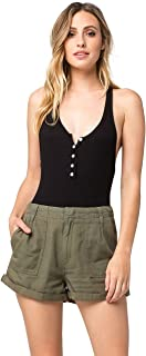 Volcom Women's Dittybopper Loose Fitting Military Style Short