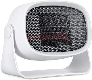 Zixin Nuevo Mini Calentadores eléctricos, 3 Segundos Rápido de calefacción portátil de casa Silencio Pequeño y Protección del sobrecalentamiento del Ventilador del radiador