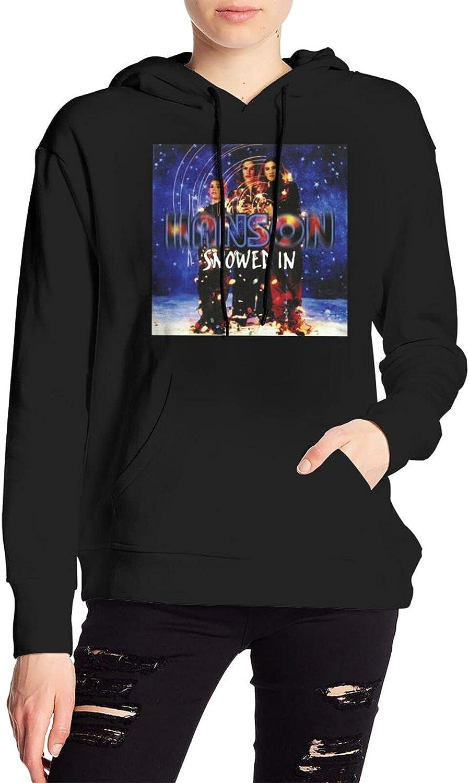 Hanson Snowed In Sweater Fashion Hooded Sweatshirt With Pocket For Men'S Women'S