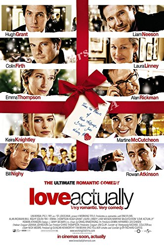 """Posters USA Love Actually Movie Poster GLOSSY FINISH - MOV310 (24"""" x 36"""" (61cm x 91.5cm))"""