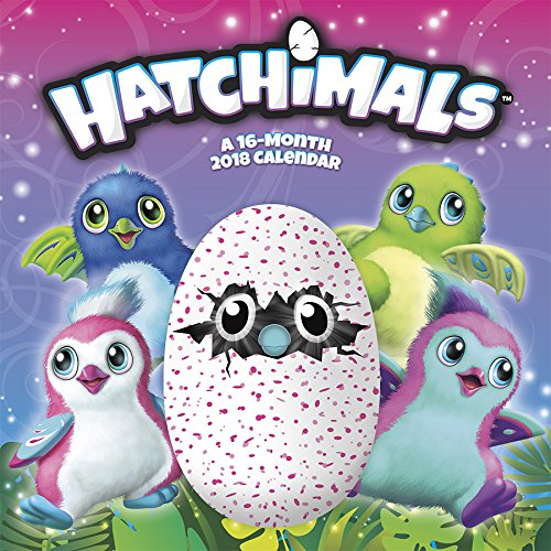 Hatchimals 2018 Calendar