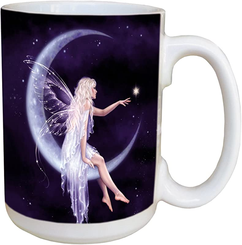 Tree Free Greetings 45493 Rachel Anderson Birth Of A Star Ceramic Mug With Full Sized Handle 15 Ounce