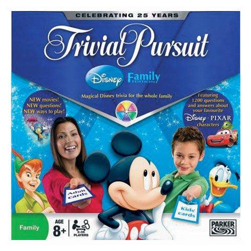 Hasbro - 01781100 - Trivial Pursuit Disney Familien Edition