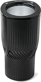 【パワーアップ版】 サンワダイレクト 缶用 ドリンクホルダー 保冷 保温 車用 DC12V L字ケーブル付 シガーソケット 200-CAR057BKN