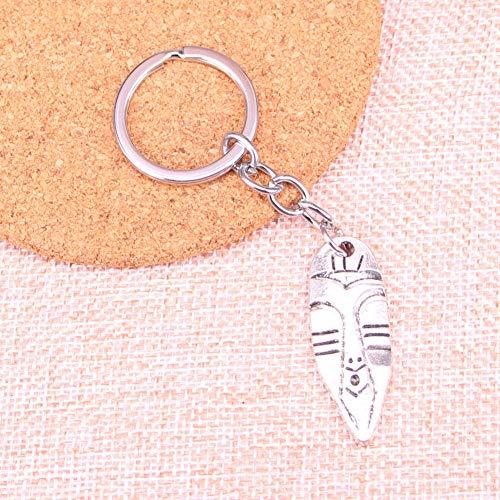 YCEOT Tiki Tribal Masker Charm Hanger Sleutelhanger Sleutelhanger Ring Ketting Accessoires Sieraden Maken Voor Geschenken
