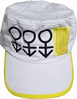 NSOKing Bizarre Adventure Cosplay Cap Jotaro Kujo Joseph Hat Army Military Costume Cap