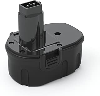 PWR+ Battery Pack compatible with DEWALT DC9091 14.4-Volt XRP: Real Capacity Replacement 14.4V dc9091 dw9091 dw9094 dc730 dw928 dw935 dw941k 2 dw953 dw983 dw990 dw991 Dc Dw Series