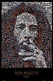 Póster 'Bob Marley, mosaico', Tamaño: 61 x 91 cm