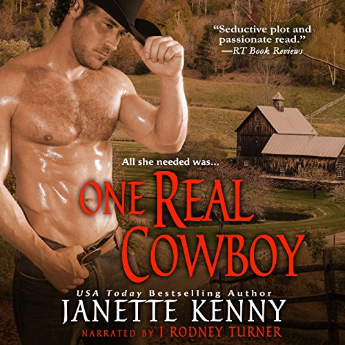 One Real Cowboy (Zebra Debut) audiobook cover art