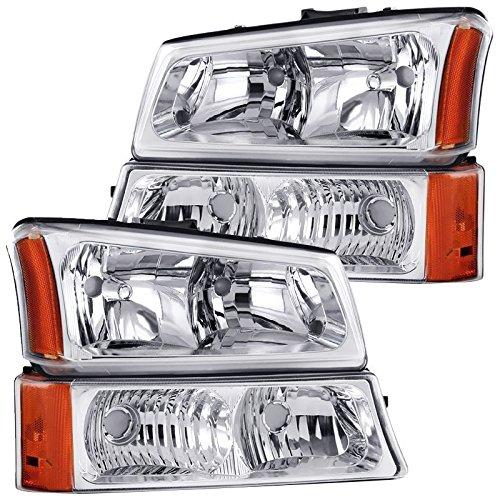 04 silverado oem headlights - 8