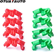 OTUAYAUTO 8PCS Tailgate Handle Clip, Lock Rod Clip for Chevy Silverado 99-09, GMC Sierra 99-09, Left and Right Side Replace OEM: 88981030, 88981031