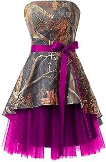 Short Homecoming Dress Camo Wedding Dress Tulle Prom Dress