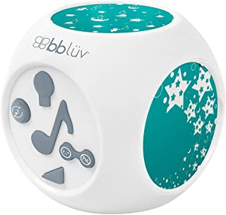 bblüv - Kübe - Sound Activated Musical Night Light with Projection