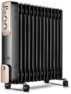 alvyu Radiador de Aceite,radiador eficiente de la energía/Elementos 13Heat de disipación y el termostato Inteligente, el vertido de Apagado de protección