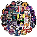 Stickers for Stranger Things Merchandise[50PCS] - Cool Graffiti Sticker for Laptop Water Bottle Hydro Flask Bike Bumper Motorcycle Skateboard, Waterproof Vinyl Decals for TV Movie Fans, Kids and Adult