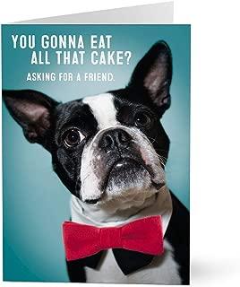 Hallmark Business Birthday Card for Employees (Debonair Dog) (Pack of 25 Greeting Cards)