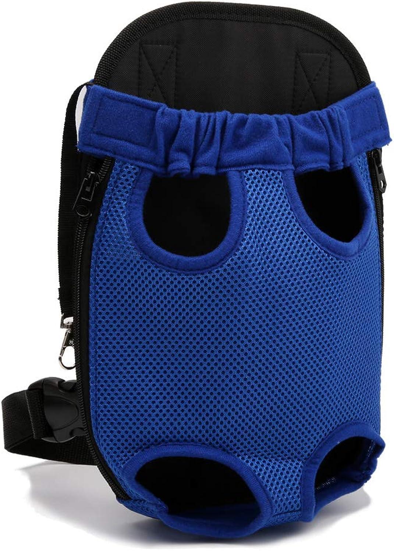 Pet Dog Backpack Breathable Comfortable Carrier Cat Front Travel Shoulder Bag Biking Hiking Trip Shopping
