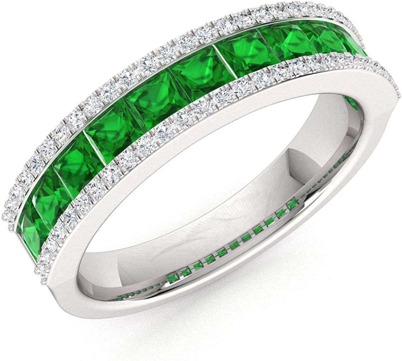 Diamondere Natural and low-pricing Certified Cut Recommendation Gemstone Diamo Princess