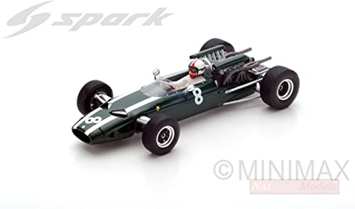Spark Model S5290 Cooper T81 Chris Amon 1966 N.8 7th French GP 1 43 Die Cast Compatible con