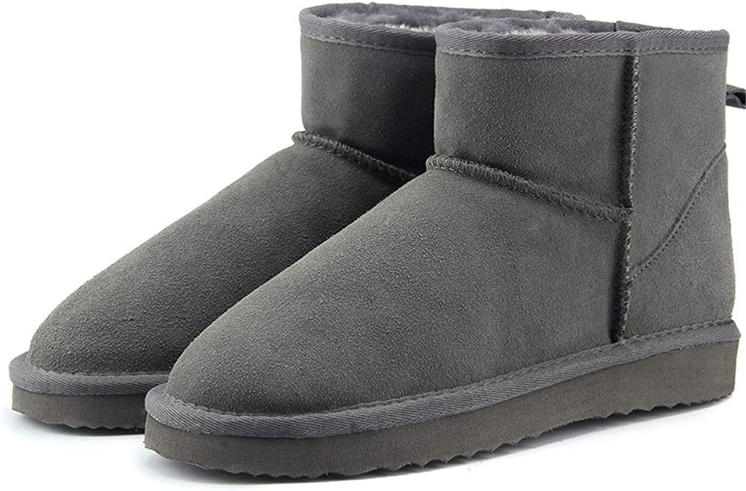 Newstarshop Australia Women Snow Boots Ankle Boots Warm Winter Boots Large Size 34-44