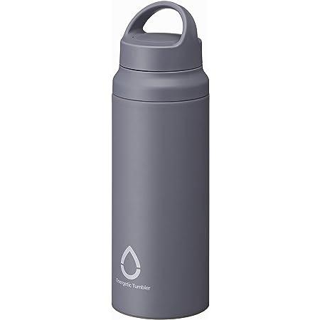 タイガー魔法瓶 水筒 サハラ ステンレスボトル 600ml【スラントハンドル】軽量 直飲み グレー MCZ-A060H