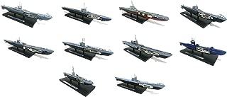 Atlas Set of 10 WWII 1/350 Military Submarine