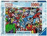 Ravensburger Puzzle 1000 Piezas, Marvel Challenge, Colección Challenge, Puzzle Marvel, Impossible Rompecabezas Ravensburger de óptima calidad, Jigsaw Puzzle