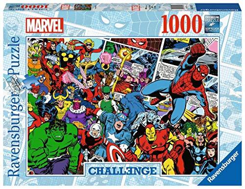 Ravensburger Puzzle 16562 - Challenge Puzzle Marvel - 1000 Teile Puzzle für Erwachsene und Kinder ab 14 Jahren, Marvel Fanartikel